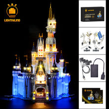 LIGHTAILING LED Light Kit For Creative Series Cinderella Princess Castle Model Light Set Compatible With 71040(China)