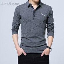 EVES Men Polo Hombre Shirt Mens Fashion Collar shirts Long Sleeve Casual Camisetas Masculinas Plus Size M-5XL Polos Sweatshirt