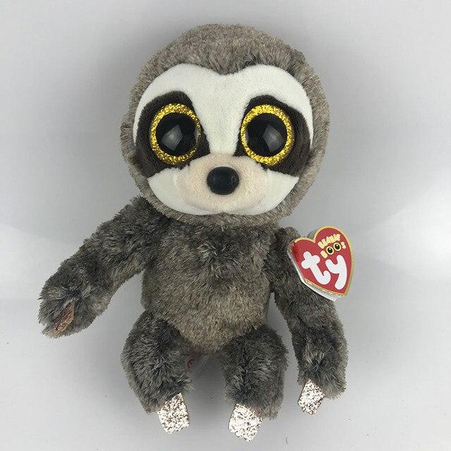 27277b85651 Ty Beanie Boo Dangler Sloth Dragon Cat Penguin Owl Pig Unicorn Dragon Wolf  Cat Fox Dog