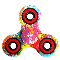 100pcs Lot DHL Delivery Tri Spinner Antistress Fidget Finger Spinner Game Function Spinning Stress Any Steering