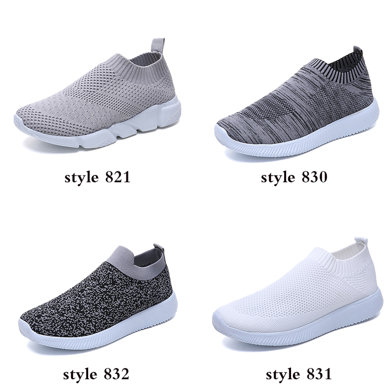 HTB1wmURajDuK1RjSszdq6xGLpXax Rimocy plus size breathable air mesh sneakers women 2019 spring summer slip on platform knitting flats soft walking shoes woman