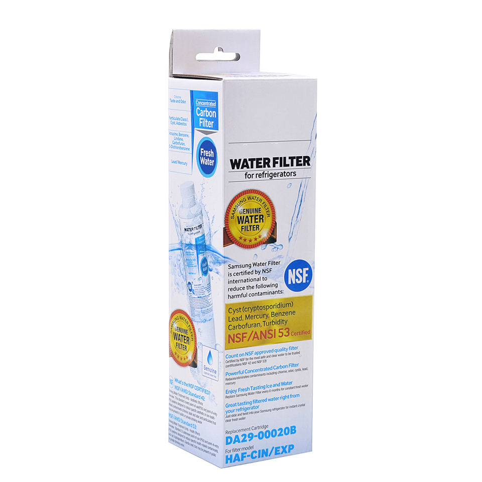 Image 5 - NEW Household Water Purifiers Refrigerator Water Filter Cartridge Activated Carbon Replacement for Samsung DA29 00020B 4 Pcs/lot-in Water Filters from Home Appliances