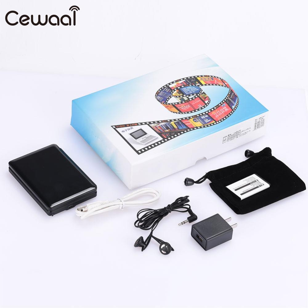 Cewaal Multi-Function 8G Color Screen Ancient Poetry Oxford Concise Encyclopedia Electronic Dictionary Translator Device