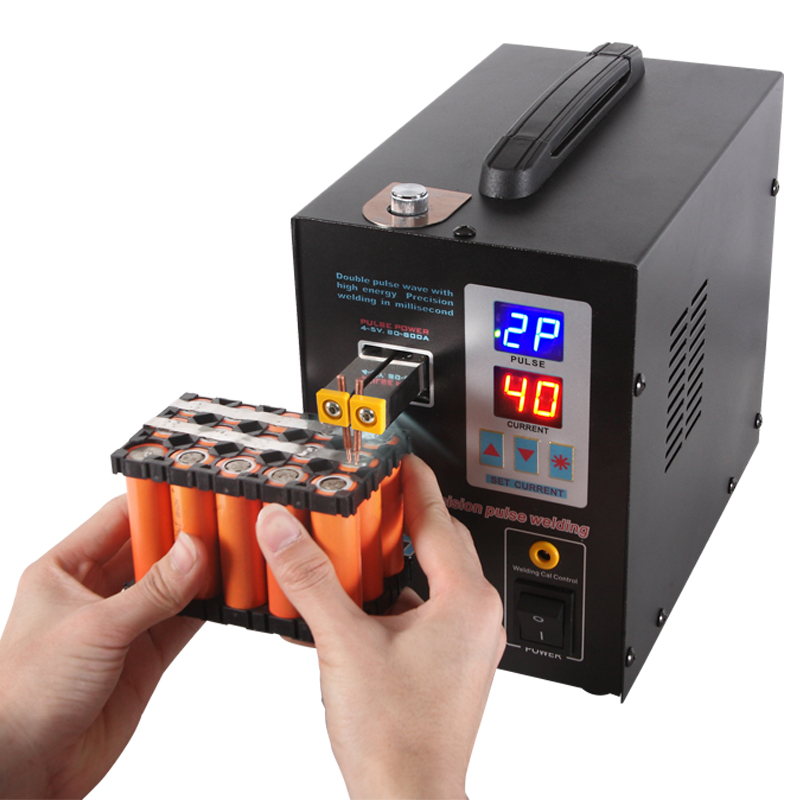 SUNKKO 737G Battery Spot welder 1 5kw LED light Spot Welding Machine for 18650 battery pack