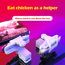 M9 Metal Smart Phone Mobile Gaming Trigger PUBG Game Controller  Fire Button Aim Key L1 R1 Gamepad For IPhone Android