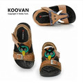 2016 Hot Summer Boys Shoes Sandals Children's Sandal Beach Soft Bottom Birds Kids Shoes Leather Sandal Free shipping KL2558