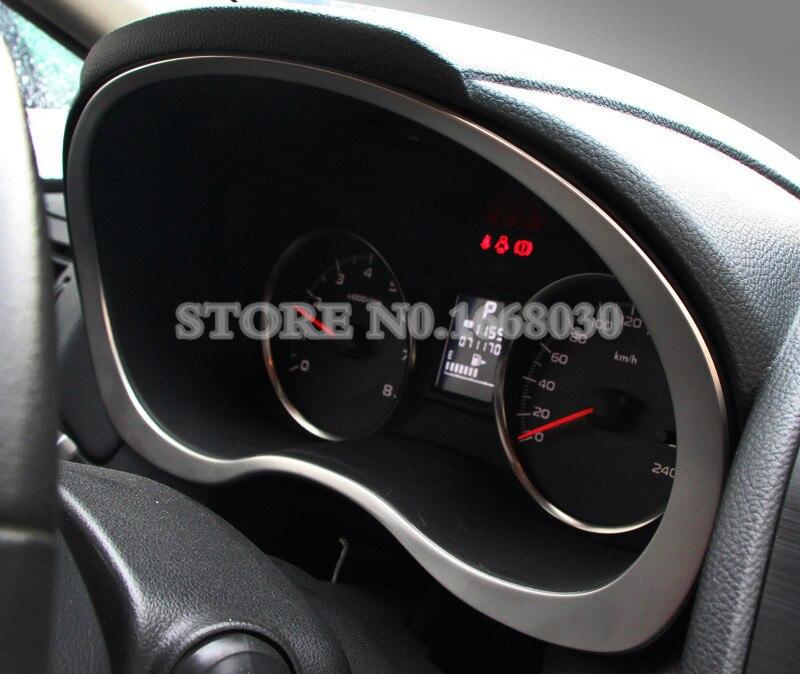 Interior Front Dashboard Edge Frame Trim Cover For Subaru Forester
