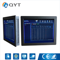 19 Inch 1280 X 1024 Resolution Industrial Panel PC With Resistive Touch Screen