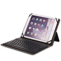 Kemile Removable Wireless Bluetooth 3 0 Aluminum Alloy Keyboard Magnetic Leather Case For Apple IPad 234