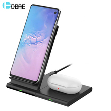 DCAE 10W Qi Wireless Charger 2 in 1 Char