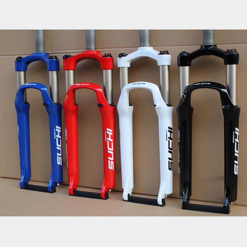 WEST BIKING New 24/26/27.5 Inch Road MTB Suspension Fork 28.6 Outer Diameter Aluminum Alloy MTB Forks Cycling Bicycle Fork