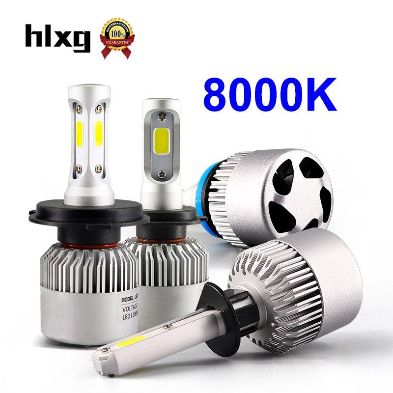 H7  LED Headlight Bulb Conversion Kit High//Low Beam Fog Light 8000K 72W ICE BLUE