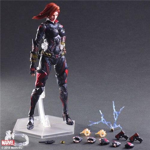 Movie Universe Variant Play Arts Kai Black Widow Action Figure PAK001025 северные морепродукты variant frozen