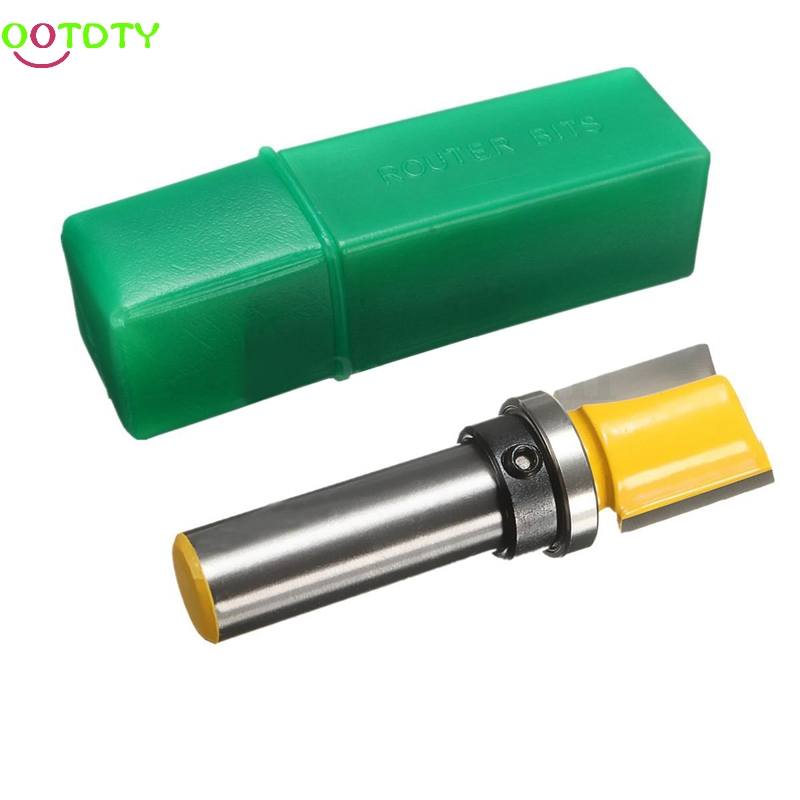 1/2 Shank Dia 3/4 x Height 3/4 Mortise Template Trim Flush Router Bit Cutter 828 Promotion 1pc extra long flush trim router bit 1 4 shank x 3 8 cutting diameter x 2 height for woodworking milling cutter