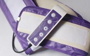 Image 4 - Cinto elétrico de massagem, cinto de emagrecimento para queima de gordura, modelador de lente com motores vibratórios, frete grátis