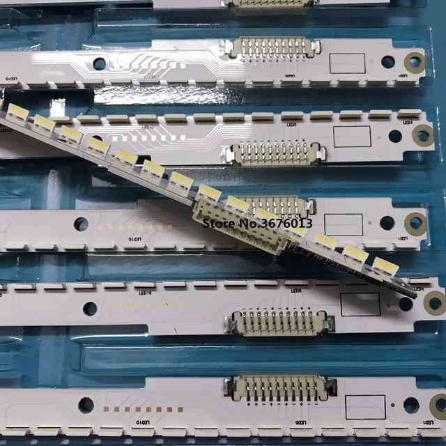 500 Mm LED Backlight Lampu Strip 56 LED Samsung 40 Inch UA40ES6100 TV 2012SVS40 7032NNB Kanan/LEFT56 10 pin 2 Pcs