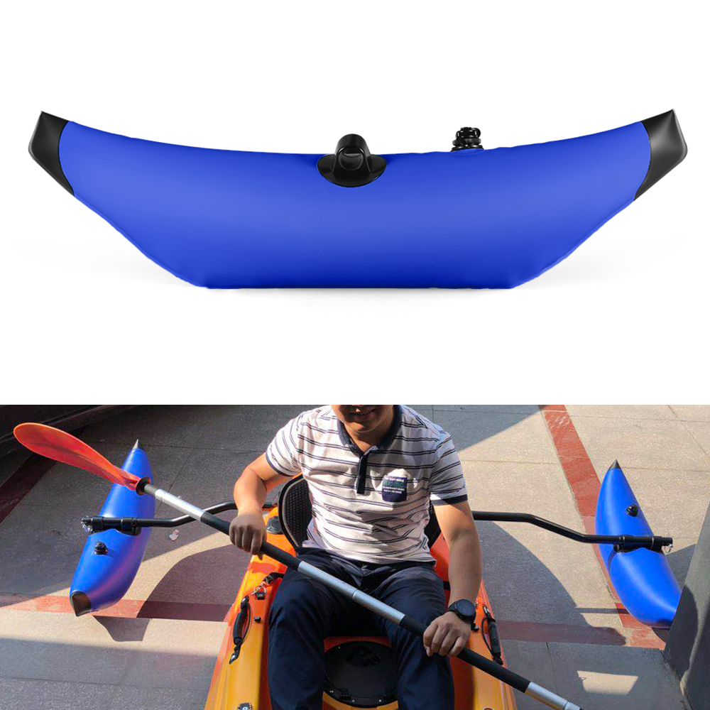 Kayak PVC Inflatable Outrigger Kayak Canoe Fishing Boat Standing Float Stabilizer System Water Float Buoy Water Sports