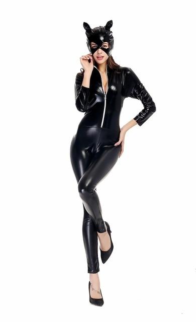 Sexy catwoman halloween costume