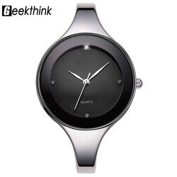 Geekthink luxury brand fashion quartz watch women ladies stainless steel bracelet watches casual clock female dress.jpg 250x250
