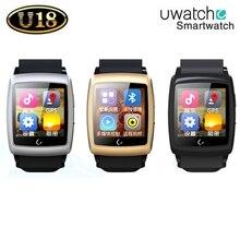 Bluetooth Smartwatch U18 Smart U Watch Android 4 4 Wristwatch W GPS Wifi 4G ROM For