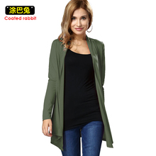 2017 Spring Autumn Casual cardigan Outwear women Cardigan Jackets Tops new style Fashion Women Long Sleeve
