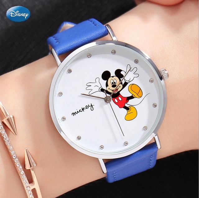 Disney 100% Genuino Orologio Da Polso Marca Superiore Luxry Famous Cinturino In