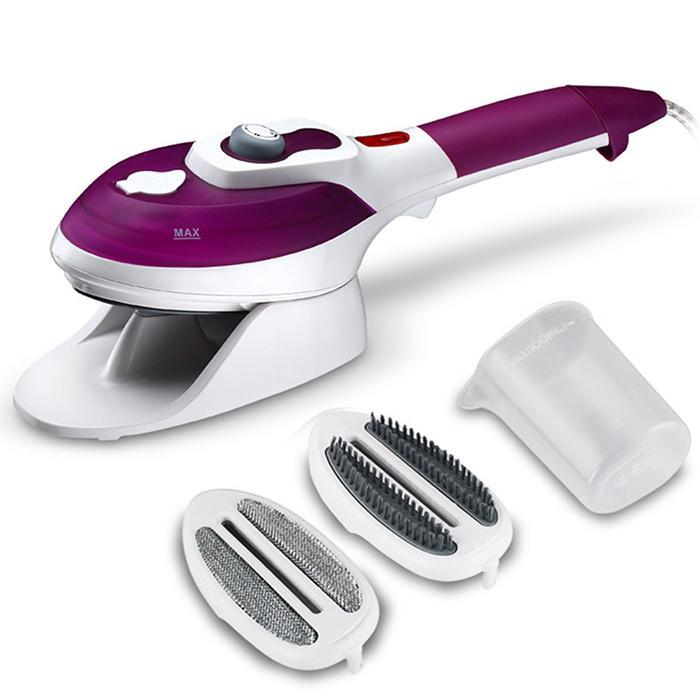 Steamer Garment For Clothes Handheld 360 degree Electric Steam Brush Iron Machine With EU Plug Hand-held For Home Travel NewSteamer Garment For Clothes Handheld 360 degree Electric Steam Brush Iron Machine With EU Plug Hand-held For Home Travel New