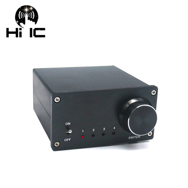US $54 14 7% OFF|Aliexpress com : Buy 4 Input 1 Output/ 1 Input 4 Output  Two way Audio Signal Switcher Switch Splitter Selector Box Sound with RCA