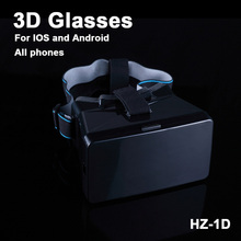 NEW ZH-1D 3D Glass New Real Vr Box 2015 3D movies  Sale  3D Glass Mobile Phone 3d Video Format Games