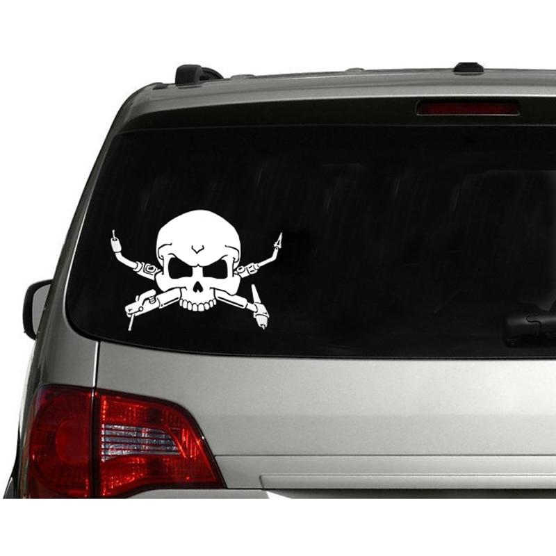 Skull Welding Vinyl Decal Sticker Car Window Wall Bumper
