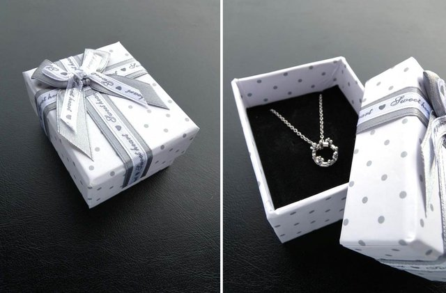 Wholesale 20pcslot High grade Double bowknot Paper Jewelry box Gift