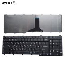 GZEELE Русская клавиатура для ноутбука toshiba Satellite C650 C655 C660 C670 L675 L750 L755 L670 L650 L655 L670 L770 L775 L775D ру