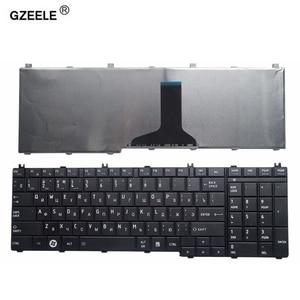 Image 1 - GZEELE russian laptop Keyboard for toshiba Satellite C650 C655 C660 C670 L675 L750 L755 L670 L650 L655 L670 L770 L775 L775D RU