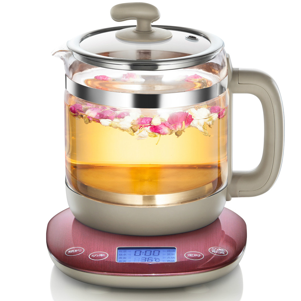 Fully automatic separation tea pot glass  teas  / electric kettle boil medicine free shipping automatic electric kettle pot tea set