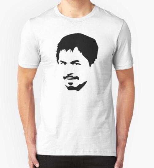 New Summer Clothing Manny Pacquiao T-Shirts Men's Short Sleeve Round Neck T Shirts Cotton Camisetas  Fitness shirts S-XXL
