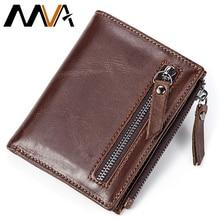 MVA font b Men b font font b Wallets b font Male Purse Genuine Leather font