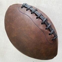 Мягкий резиновый мяч № 9 для регби, американский футбольный мяч, спортивный матч для детей, взрослых, студентов, подростков, обучение/украше...