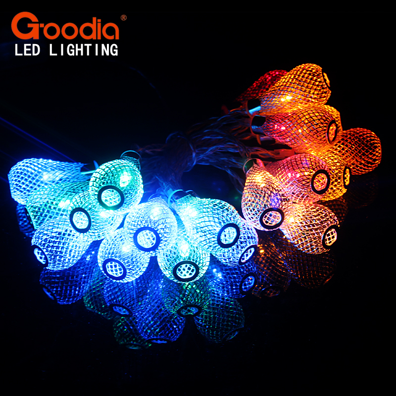 Christmas Novelty Lights Outdoor : Aliexpress.com : Buy Novelty Outdoor lighting 2M LED Ball string lamps Christmas Lights battery ...