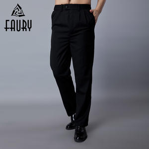 3f0617e6f1a FAURY Men Work Pants Restaurant Chef Cooking Waiter Kitchen