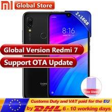 Küresel sürüm Xiaomi Redmi 7 2 GB 16 GB Smartphone Snapdragon 632 Octa Çekirdek 4000 mAh 6.26 ''Tam ekran 12 + 2 MP Çift Kamera ...
