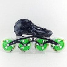 South Korea CR carbon saints speed skating shoes racing shoes adult skates skates shoes with G13