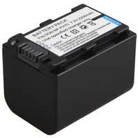 1pc 2200mAh NP-FH70 Camera Battery For Sony NP-FH50 NP-FH100 NP-FH30 NP-FH40 NP-FH60 NP-FH50 NP-FH70 HDR-SR HDR-XR Series