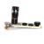 Pinza Universal Clip de la Lente de la Cámara 10x Óptico Teleobjetivo Enfoque Manual + Lente Ojo de pez + Lente Granangular + Micro Kit de 4-en-1 CL-3-LX