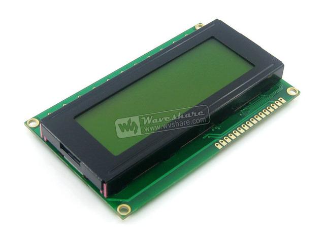 204 20X4 20*4 2004 Caracteres LCD Módulo de Display LCM TN/STN Amarelo Backlight Caráter Preto 5 V Logic Circuit HD44780 Compatível
