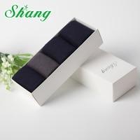 BAMBOO WATER SHANG Gift Box Packaging Men Bamboo Fiber Socks Men S Elite Casual Short Socks
