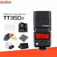 GODOX TT350 TT350O Мини Вспышка Speedlite ttl 2,4G HSS GN36 1/8000 s + X1T O триггер для камеры Olympus/Panasonic DSLR