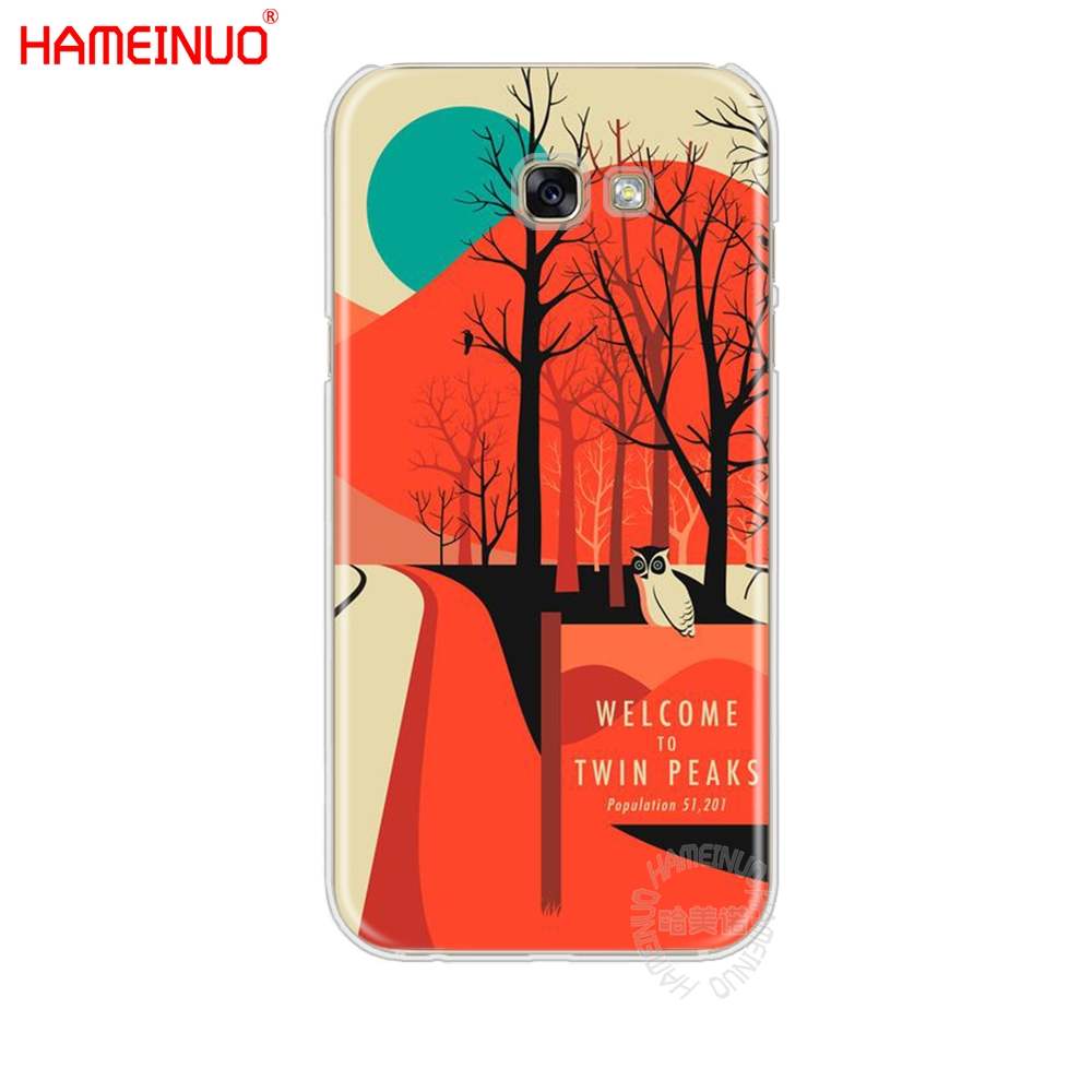 HAMEINUO welocme to the twin peaks cell phone case cover for Samsung Galaxy A3 A310 A5 A510 A7 A8 A9 2016 2017 2018