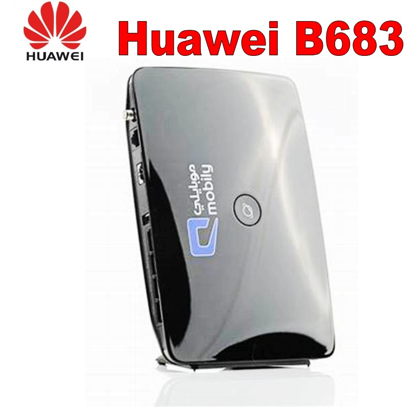 Unlocked Huawei B683 3G 4g wireless router 3g wifi dongle 3g WCDMA cpe car router with