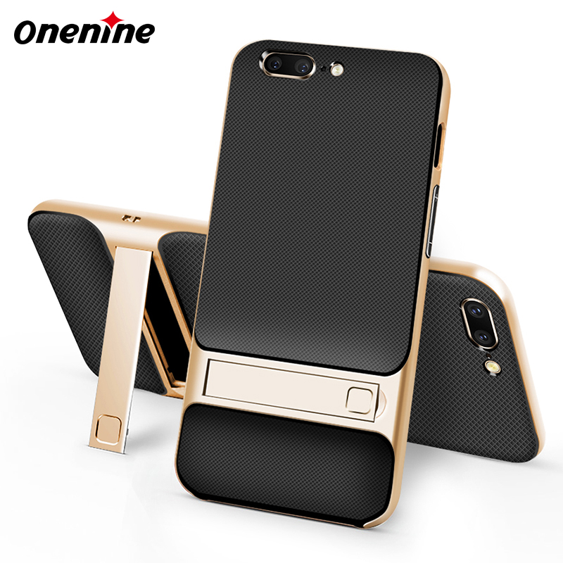 Luxury Shockproof Case Cover for <font><b>Oneplus</b></font> <font><b>5</b></font> <font><b>A5000</b></font> Phone Case Silicone Cover Original 3D Kickstand Hybrid 360 Protective Coque <font><b>5</b></font>.<font><b>5</b></font> image