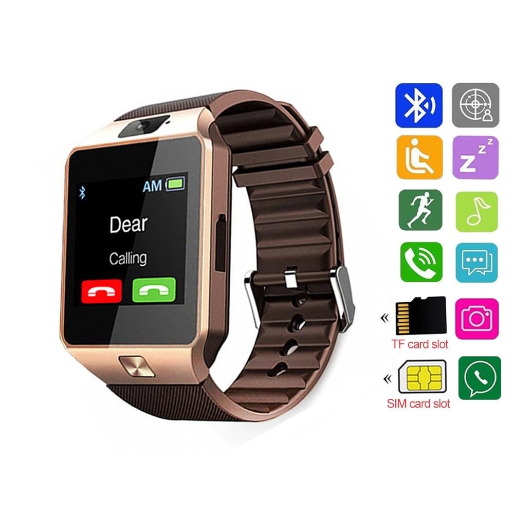 DZ09 Smart Watch Smartwatch Men Watch For Apple IP67 Waterproof Bluetooth Android with SIM slot